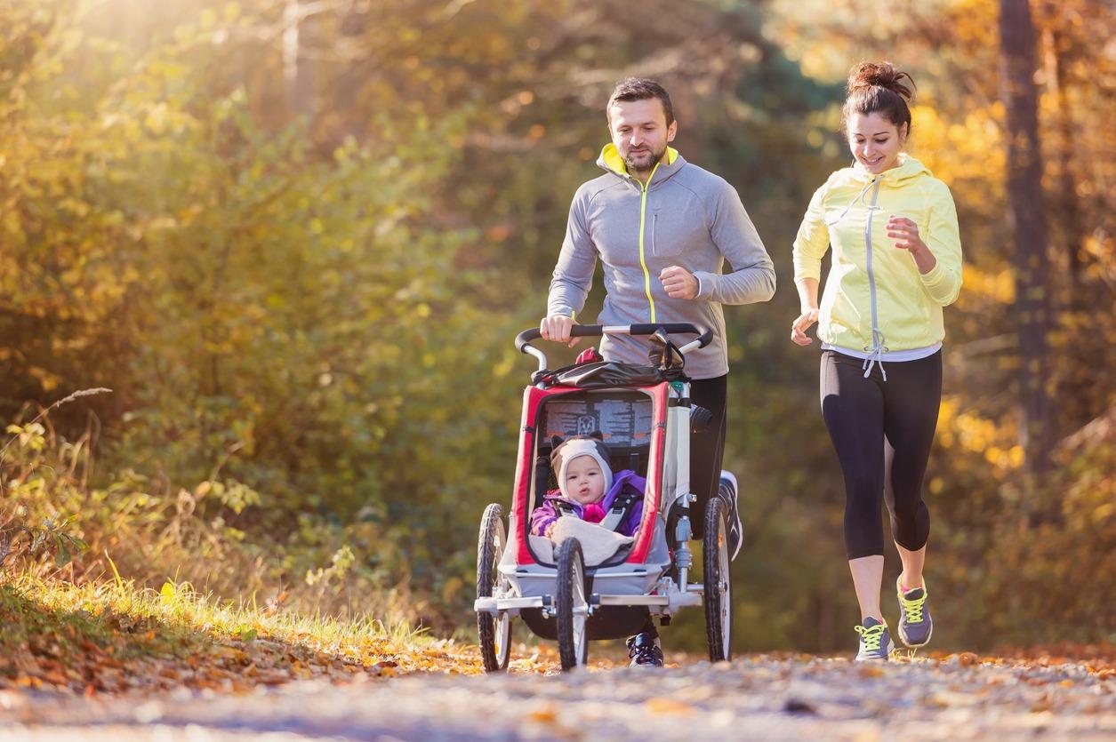 Faire du jogging en poussette